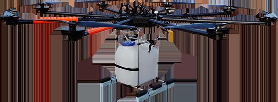 Drohne für Transport von Schwerlasten UAV