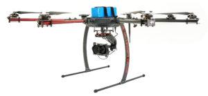Drohne UAV für Vermessungen