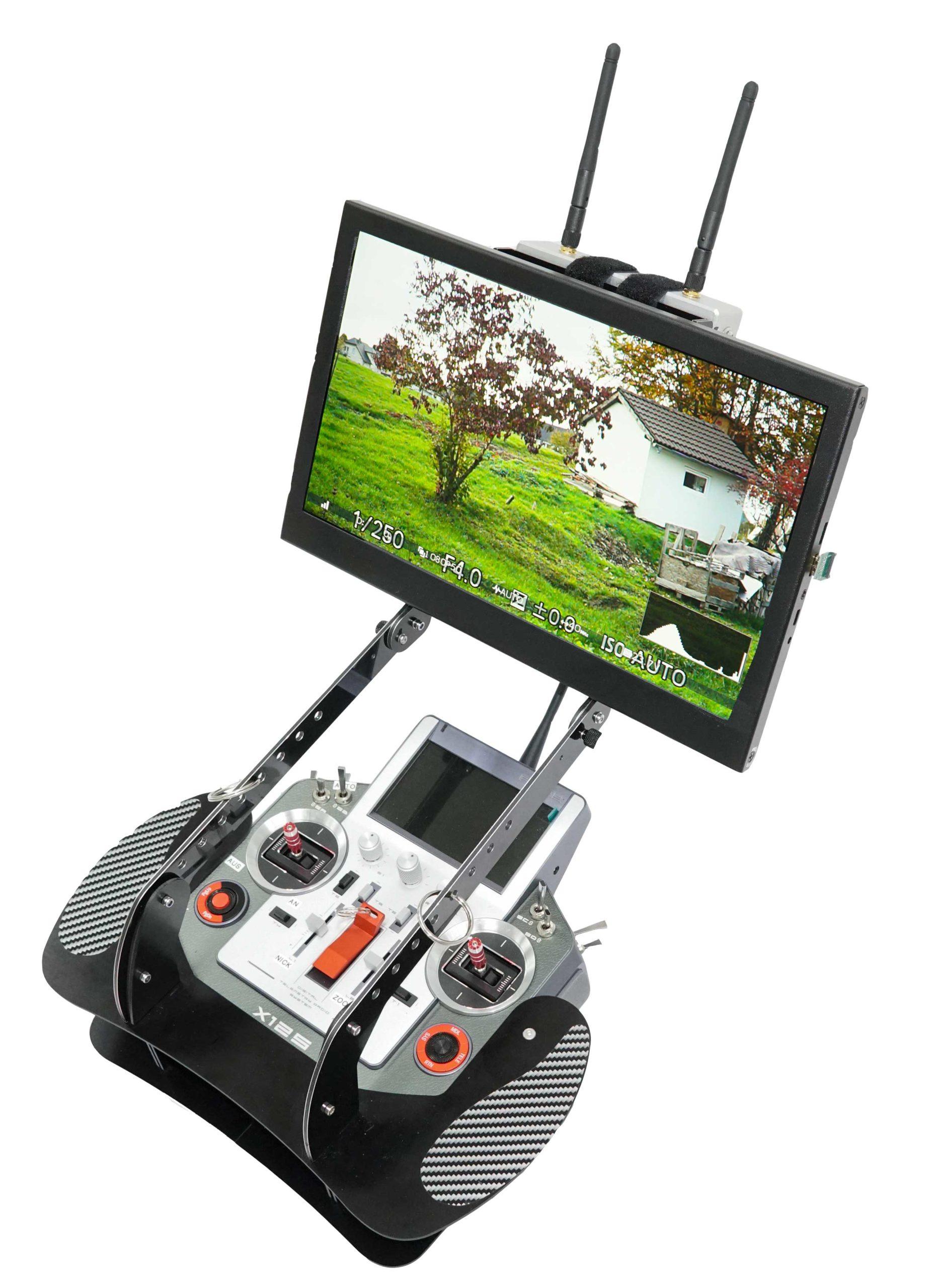 """Bodenstation für Drohne UAV mit 13"""" Monitor"""