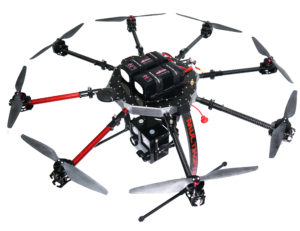 Drohne UAV für BOS Feuerwehr