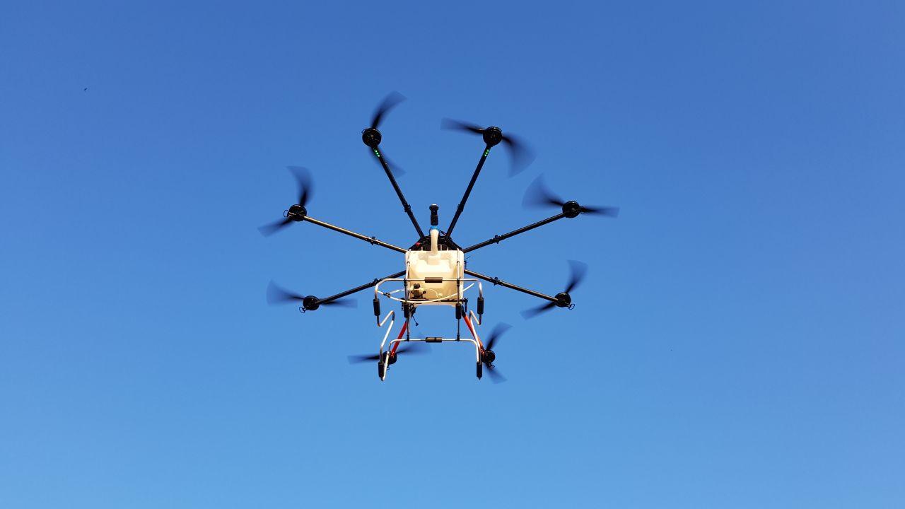 Drohne Agrar für Sprühsysteme in der Landwirtschaft