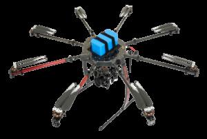 Vermessungen mit Sony Kamera und Drohne UAV