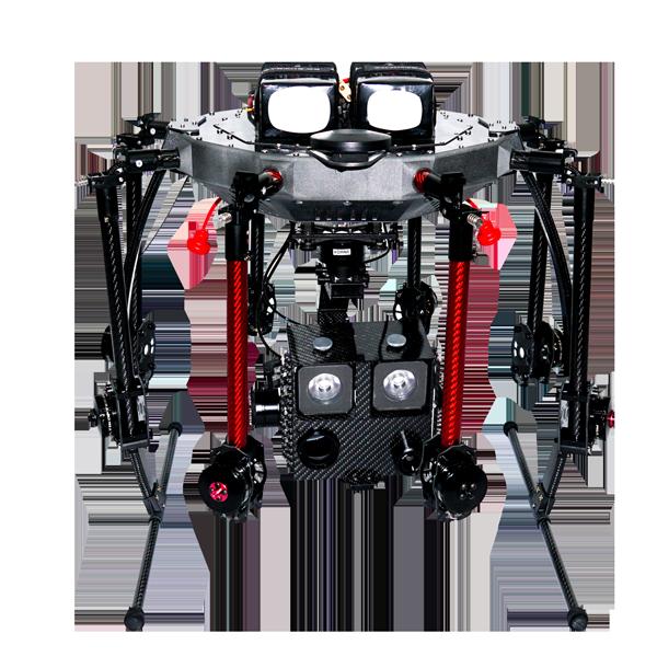 Drohne UAV für den Einsatz bei der Feuerwehr